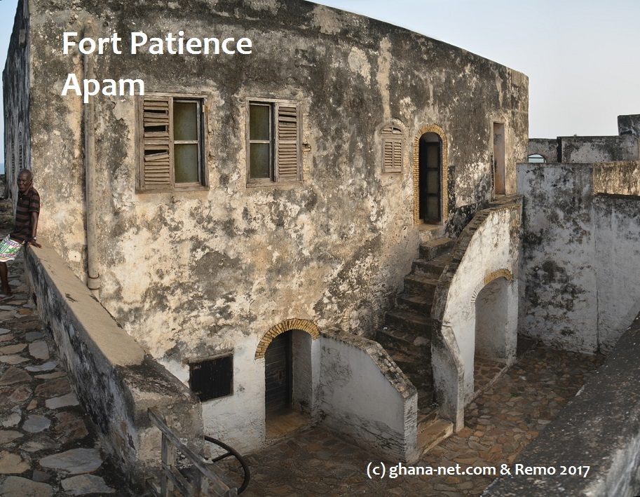 Picture, Ghana, West Africa, Forts and castles, Fort Patience